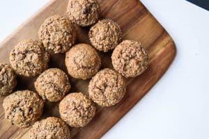 Porridge Oats Bran Muffins