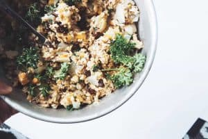 Porridge Oats Pilaf